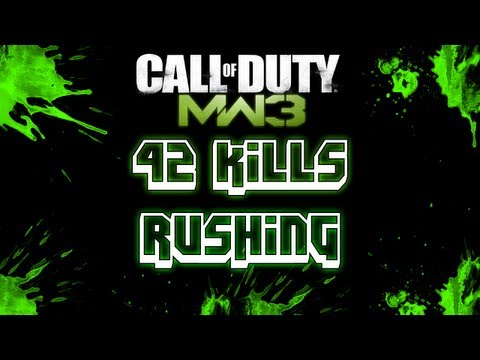 42 KILLS RUSHING on Off Shore!! | Kill Confirmed | Call of Duty Modern Warfare 3 Gameplay |