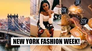 GOT INVITED TO A NEW YORK FASHION WEEK EVENT!