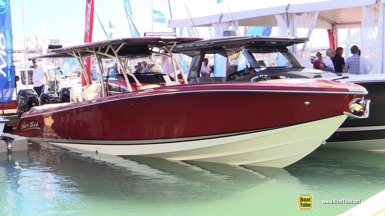 2019 Nor Tech 390 Sport Center Console Boat - Walkthrough - 2019 Miami Boat  Show