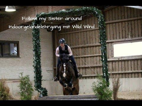 Follow my Sister around - Indoorgeländelehrgang mit Wild Wind