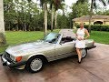 1989 Mercedes-Benz 560SL, Low miles, for sale by Autohaus of Naples 239-263-8500