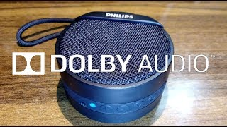 Best Budget BLUETOOTH SPEAKER   Philips BT40BK   Full Review with Dolby Sound Test