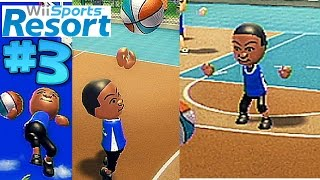 wii sports resort basketball pickup game part 3 two 20 point games
