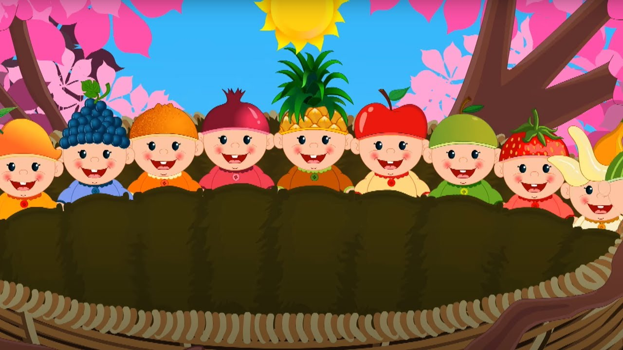 Dieci nel letto | Filastrocche italiane | Canzoni per bambini | Prescolastico | Cartoni animati