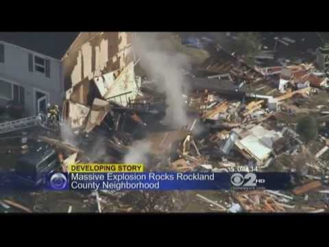 WCBS First Report on West Haverstraw Condo Explosion
