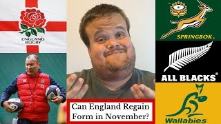 Can England Rugby Regain Form? | Autumn Internationals 2018