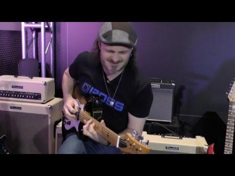 [NAMM] Roland Ultimate Blues Tone Capsule and Blues Cube Hot Amp