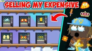 Selling All My Expensive Items P.t3 ( 1000Dls ) | GrowTopia