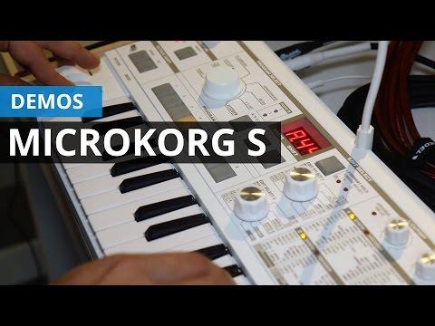 Demo del nuevo Korg MicroKorg S