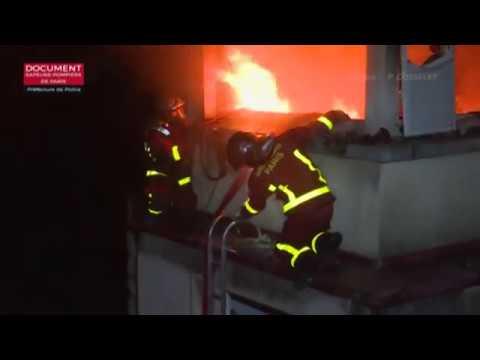 Fatal apartment fire in high-end Paris