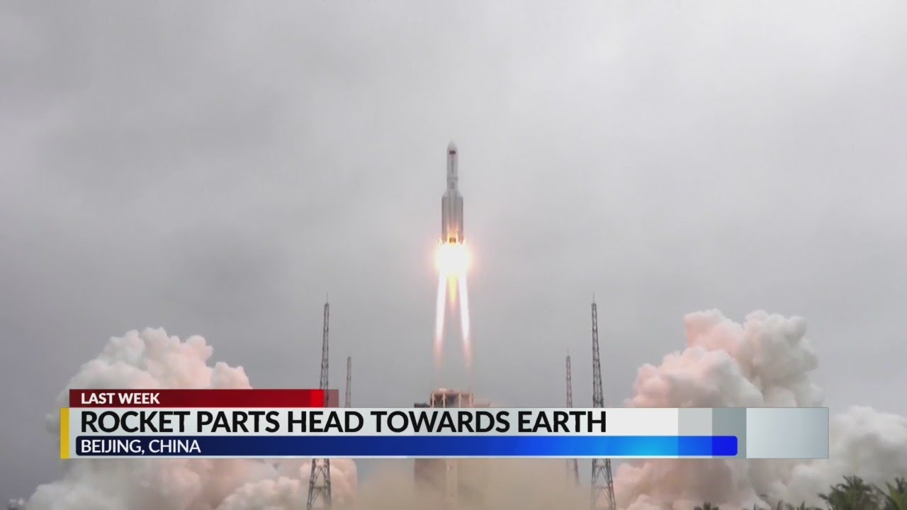 Falling debris from a Chinese rocket is hurtling back to Earth  and ...