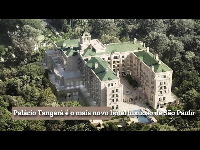 Conheça o Palácio Tangará, luxuoso hotel de SP