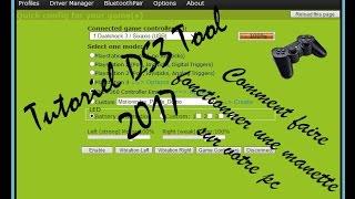 Tuto DS3 tool 2017 FR HD Faire fonctionner une manette sur votre pc.