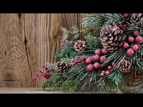 Pinecones and Berries Acrylic Painting LIVE Tutorial