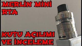 Merlin Mini RTA - Kutu Açılımı ve İnceleme - Augvape