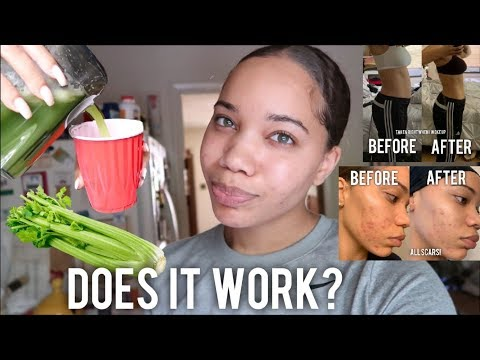 I DRANK CELERY JUICE FOR A WEEK AND....