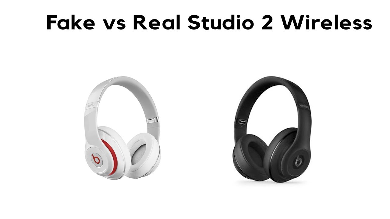 Beats by Dr. Dre Studio 2 Wireless Headphones (Fake VS. Real) - YouTube 4e704cbd6f63