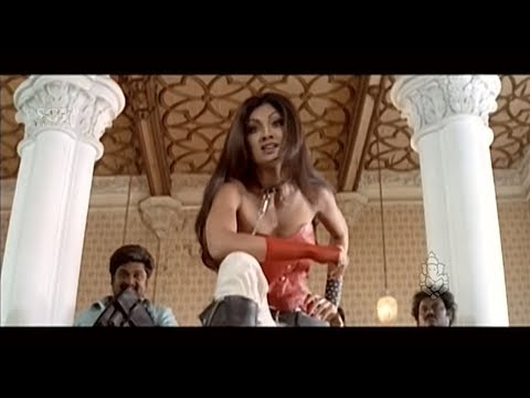 Shilpa Shetty Insults Upendra | Best Scene Of Auto Shankar Kannada Movie