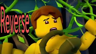 LEGO Ninjago Jay's towel/naked scene (reversed)