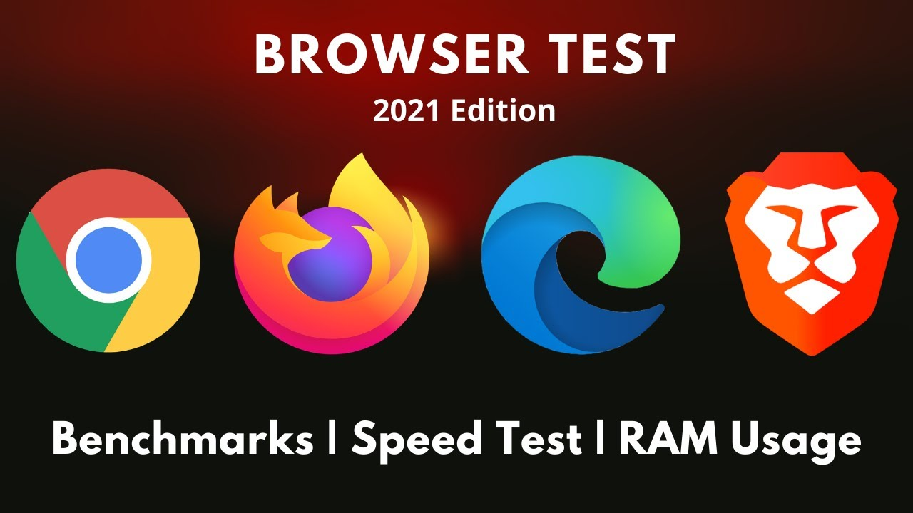 Chrome Vs Firefox Vs Edge Vs Brave | Speed Test | Ram Usage
