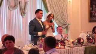 Отзыв Олега и Виктории свадьба 19.06.15 Банкетный зал ресторан Арт Холл