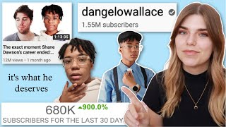 The Rise of DAngelo Wallace  Internet Analysis