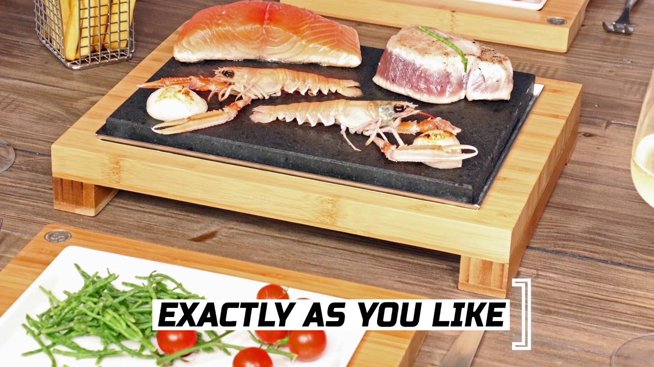 The SteakStones Raised Sharing Steak Plate video thumbnail