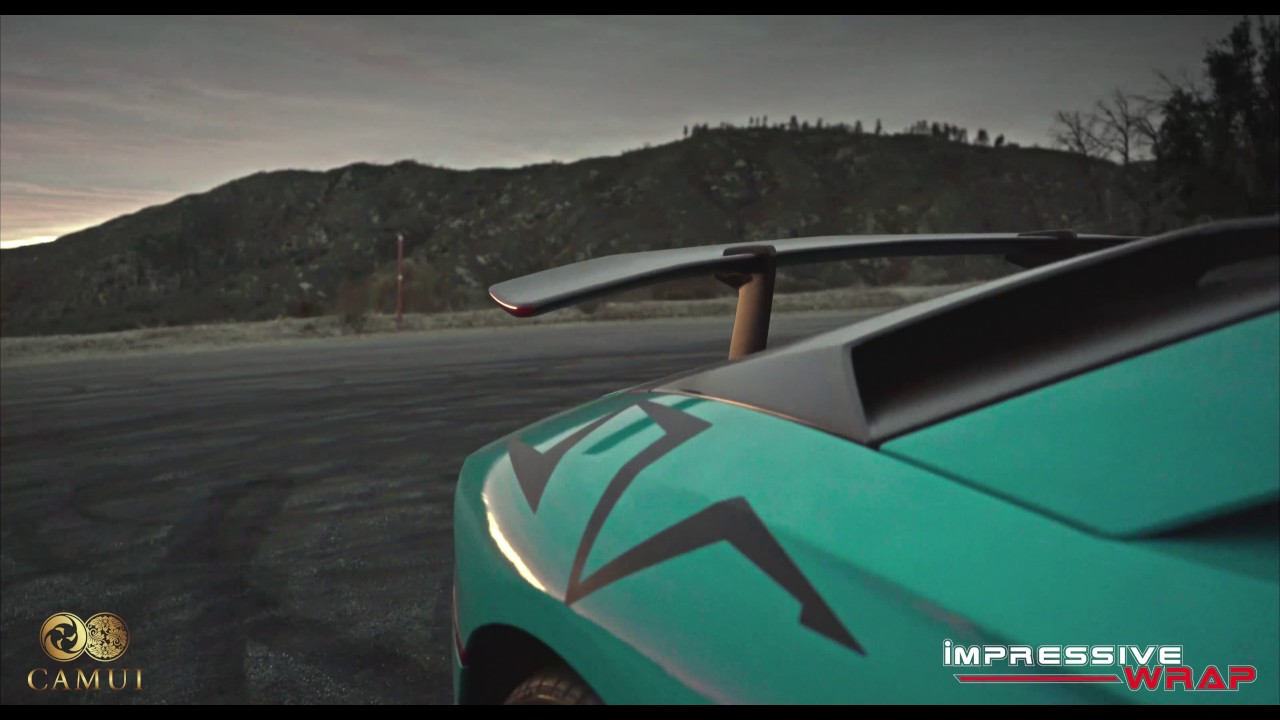 Lamborghini Aventador SV Camui Crystal Coating By Impressive Auto Salon