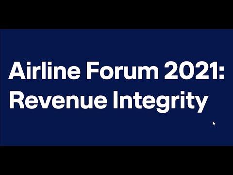 Airline Forum virtual - Talita Dalla Vecchia on Revenue Integrity / Lufthansa Systems