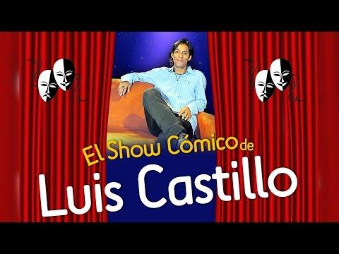 Luis Castillo, 64 minutos de show con el cómico ecuatoriano.