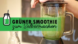 Grüner Smoothie zum Selbermachen - Immunbooster - medifit Wolfhagen