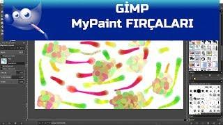 Gimp - MyPaint Fırçaları
