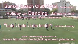Dancing Holidays Abroad– a Holiday with Dancing & much, much more   Sunset Beach Club Hotel   Jan