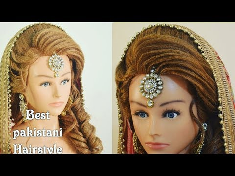 Best Pakistani Mehndi Hairstyle 2018 Step By Step Easy Hair
