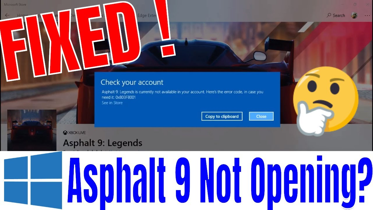 Asphalt 9 - How to fix Not Opening/Showing an Error code Problem in Windows  PC [Solved]