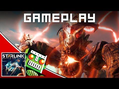 Fighting an Infernal Prime in Starlink: Battle for Atlas