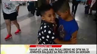 One Mindanao: Yakap at Luha Pasalubong ni Jennifer Dalquez
