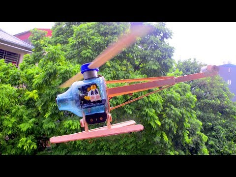 How To Make Awesome Electrical Fighting Helicopter From Motor And Lego – Creativity Toy