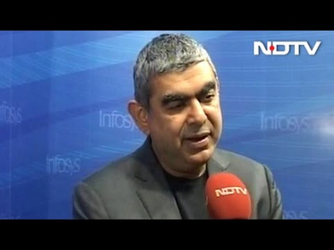 Not Too Worried About H-1B Visa Restrictions:  Infosys CEO Vishal Sikka