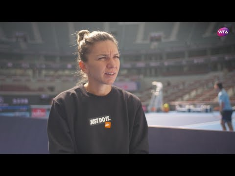 Simona Halep | 2018 China Open Pre-Tournament Interview 中国网球公开赛