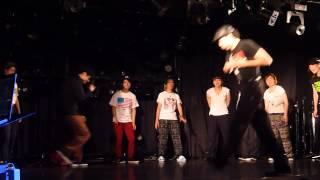 HiJump LOCK 2013.5.25 予選 めぐとも、ひのけん、えっちゃん