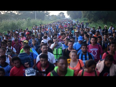 This is the biggest caravan in the history of caravans
