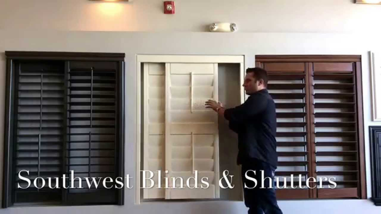 Wood Shutters For Sliding Doors Youtube