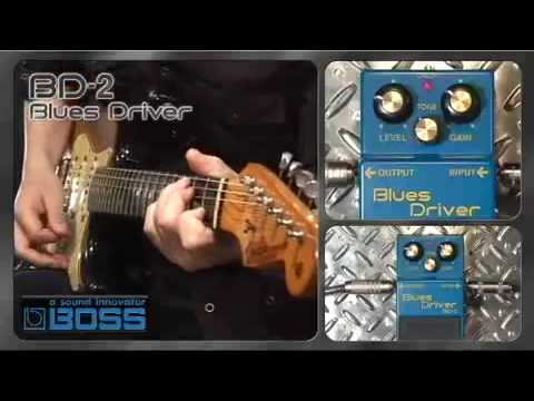 Boss BD-2 Blues driver pedal - Nevada Music UK