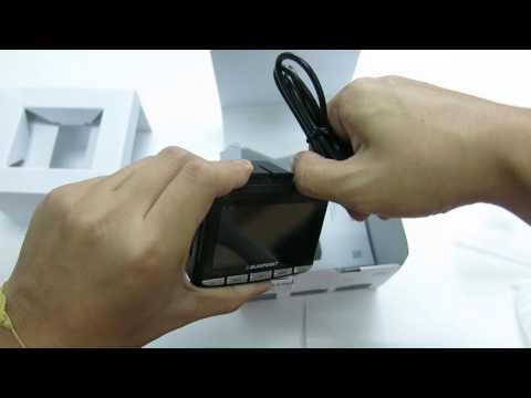 Blaupunkt Driving Video Recorder BP3.0 GPS Unboxing