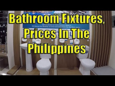 Bathroom Fixture Prices In The Philippines Youtube