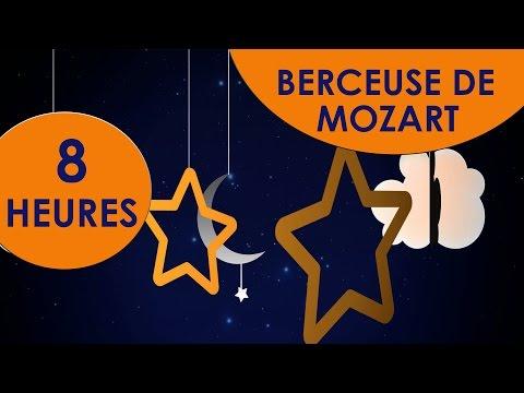 La plus belle Berceuse ♫ Berceuse de Mozart 8 HEURES ♫ Musique pour dormir bébé - Lullaby for babies