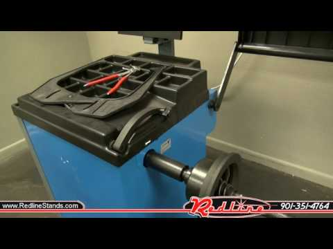 Triumph NTB-800 Automotive Wheel Balancer Quick Look