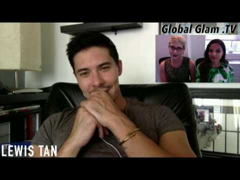 Lewis Tan Interview With Global Glam TV