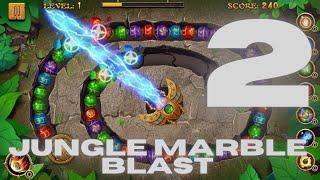 Jungle Marble Blast Gameplay (Android, iOS) Part 2 #androidgameplay #iOSgameplay screenshot 3